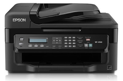 delivers speedily splendid results amongst a potent dark coverage Epson WorkForce WF-2530 Driver Download