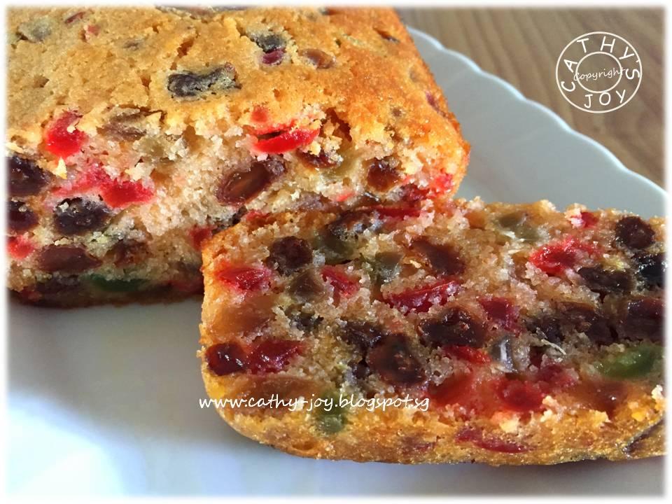 Light Fruit Cake Recipe Joy Of Baking: Cathy's Joy: Merry Christmas