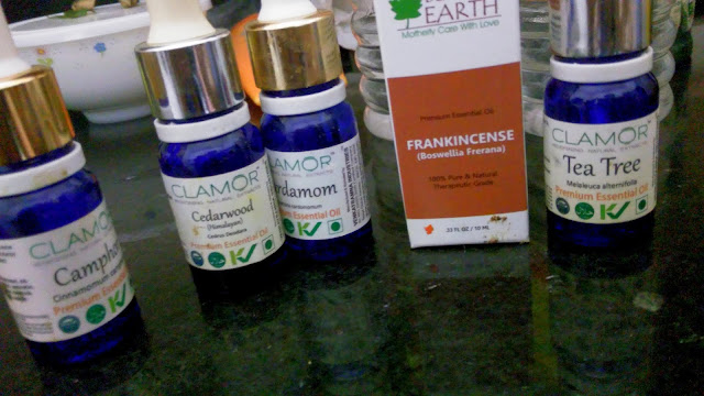 essential oils to heal acne and pimples