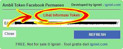 Tool Ambil Token Facebook Otomatis Igniel