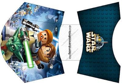 Esta es para patatas o papas fritas de Star Wars Lego