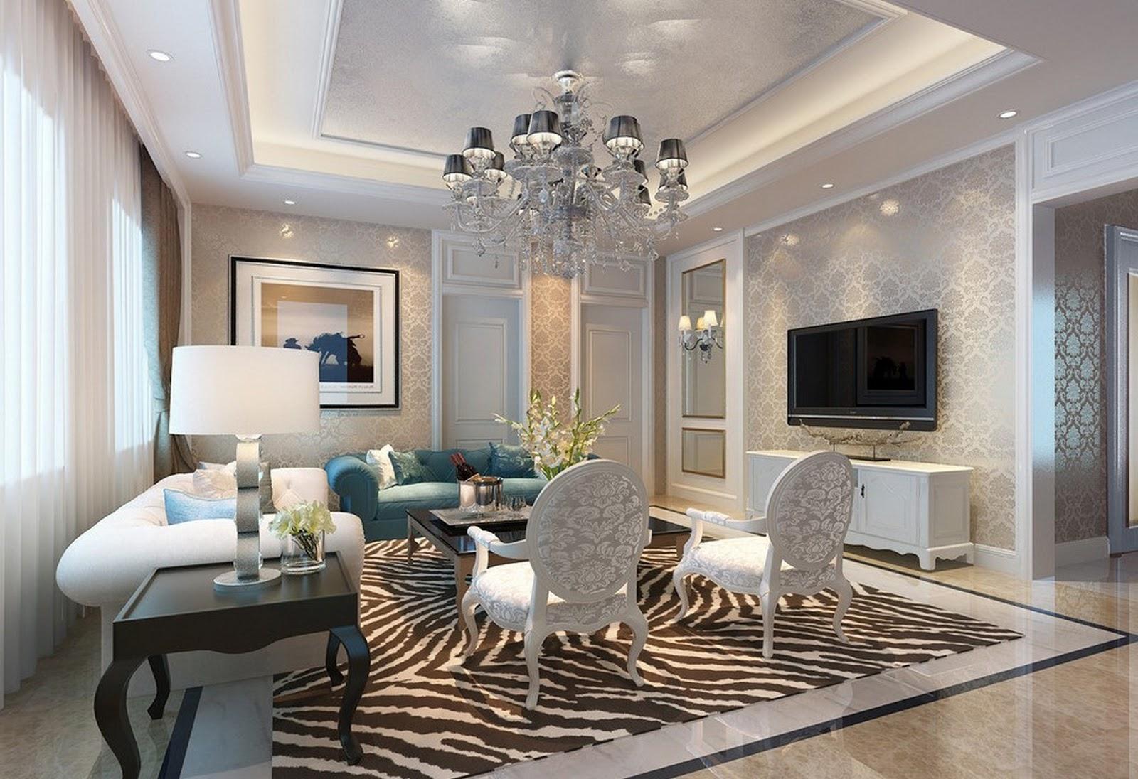 Trend Desain Ruang Keluarga Mewah Yang Keren Interior Rumah Minimalis