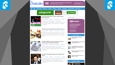 InaLabs Template - SEO , High CTR , Responsive Blogger Templates
