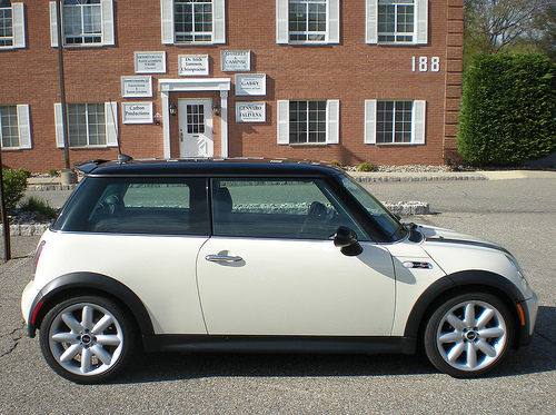 Mini Cooper S Convertible Pepper White With Black Roof