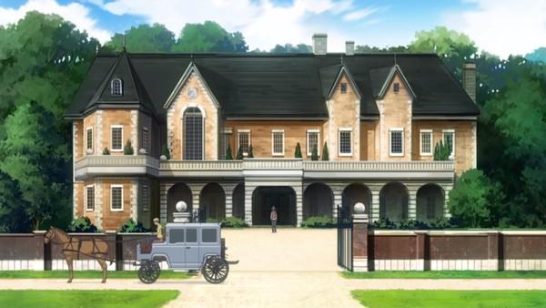Tempat tinggal Shin di Anime Kenja no Mago Episode 1
