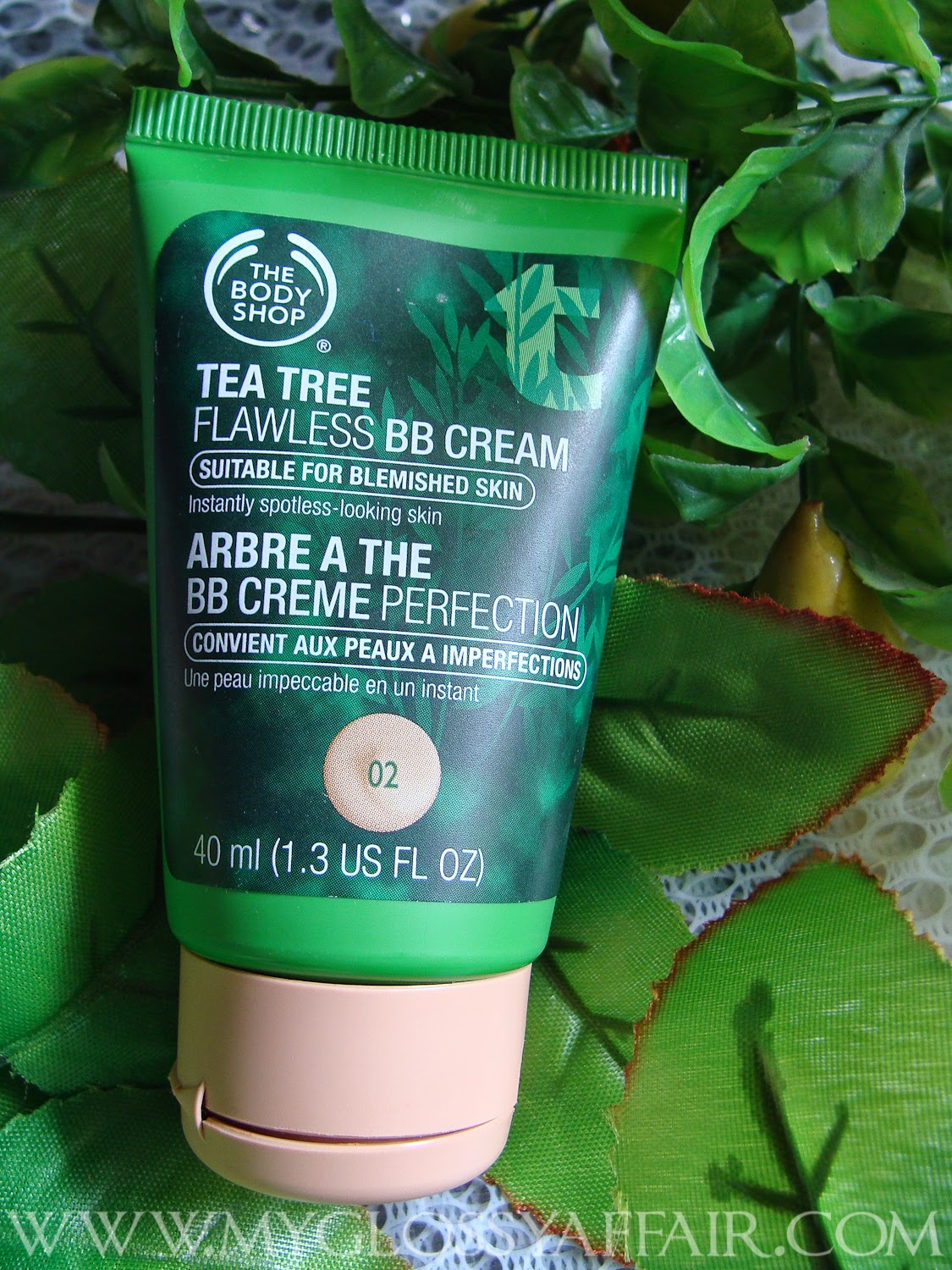The Body Shop Tea Tree BB Cream Review and Swatches