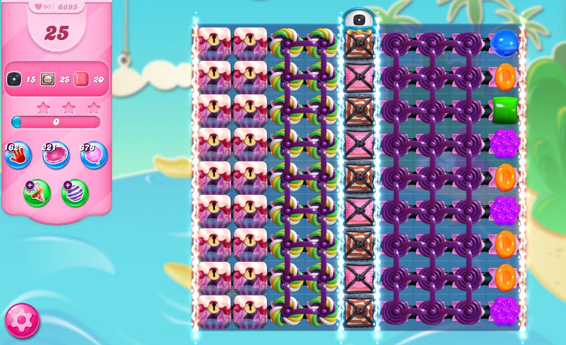 Candy Crush Saga level 6895