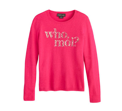 A sweater from the Kate Spade New York x Miss Piggy collaboration. Photo: Courtesy
