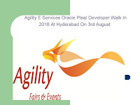 Agility E Services Oracle PlsqI Developer Walk In 2018 At Hyderabad On 3rd August