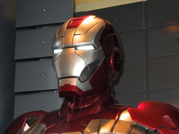 Iron Man Mark V helmet