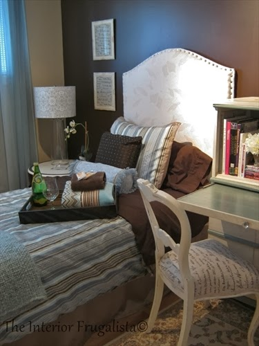 Guest room makeover After View A