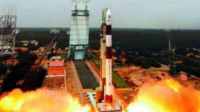 ISRO NASA Mega World Record of maga launch of 104 satellites in space in a single mission.