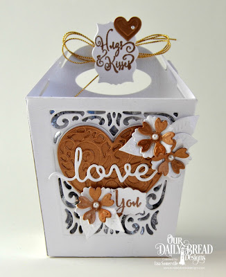 Our Daily Bread Designs Stamp Sets: Hugs & Kisses, To My Favorite, Our Daily Bread Designs Custom Dies: Glorious Gable Box, Heavenly Hearts, Layering Hearts, Mini Label, Bitty Blossoms, Love Script