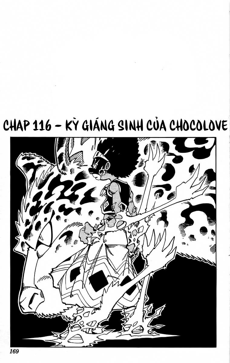 Shaman King [Vua pháp thuật] chap 116 trang 1