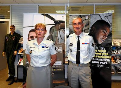 ROUEN. Le nouveau général de la sous-direction du recrutement de l'Armée de Terre en visite au CIRFA de Rouen.