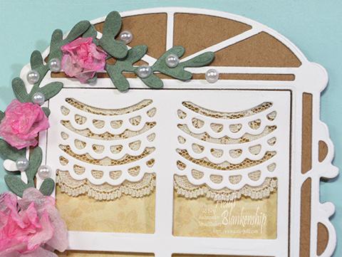 Embellished Dreams Toby S Flower Window Sill Card Tonic