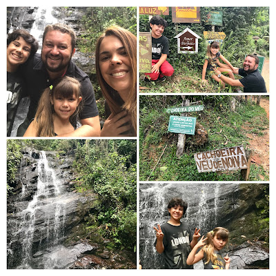 Cachoeira Véu de noiva, em Visconde de Mauá