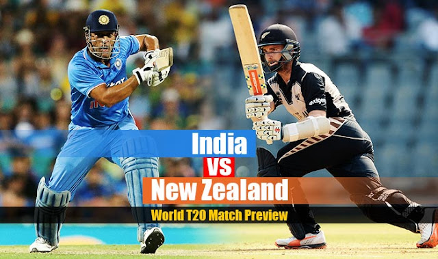 India Vs New Zealand ICC T20 world Cup