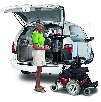 AL420, AL420 Inside Wheelchair and Scooter, Harmar, Harmar AL420, Harmar AL420 Power Lift, Harmar Mobility products, How To Use Harmar AL 420 scooter and wheelchair lift, Power Lift,