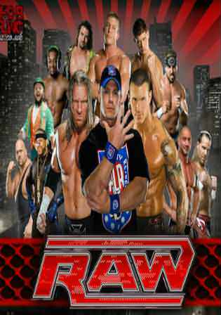 WWE Monday Night Raw HDTV 480p 400MB 15 January 2018 Watch Online Free Download bolly4u