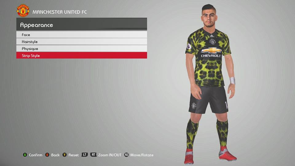 FIFA 19 Adidas x EA Sports Digital 4th Kits for PES 2017