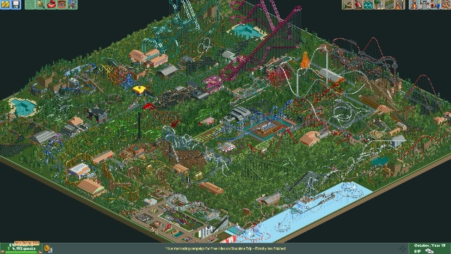 Download Roller Coaster Tycoon 2 PC Gemeplay