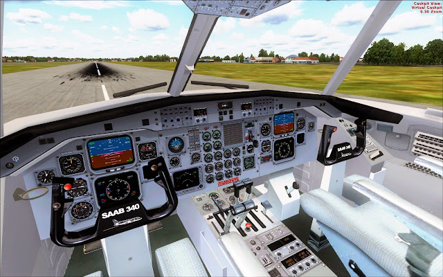 Flight Factory Simulations Saab 340 v1 1 FSX - Ariel