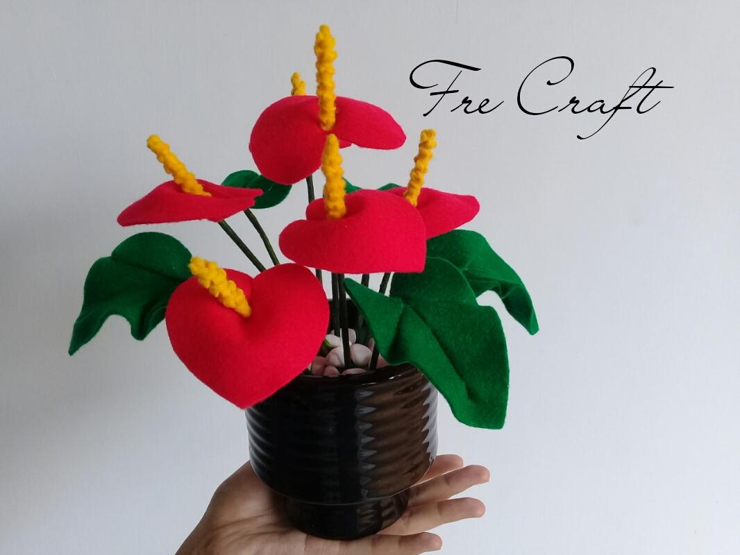 Cari Gambar Vas Bunga Dari Flanel