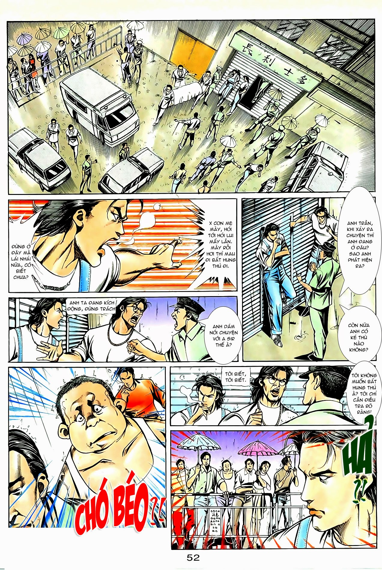 Người Trong Giang Hồ chapter 85: diệt môn trang 25