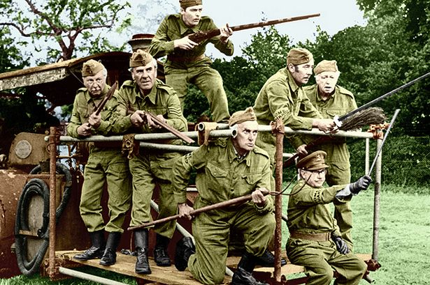 Funny Essential Army Survival Tips Guide Dad's Army