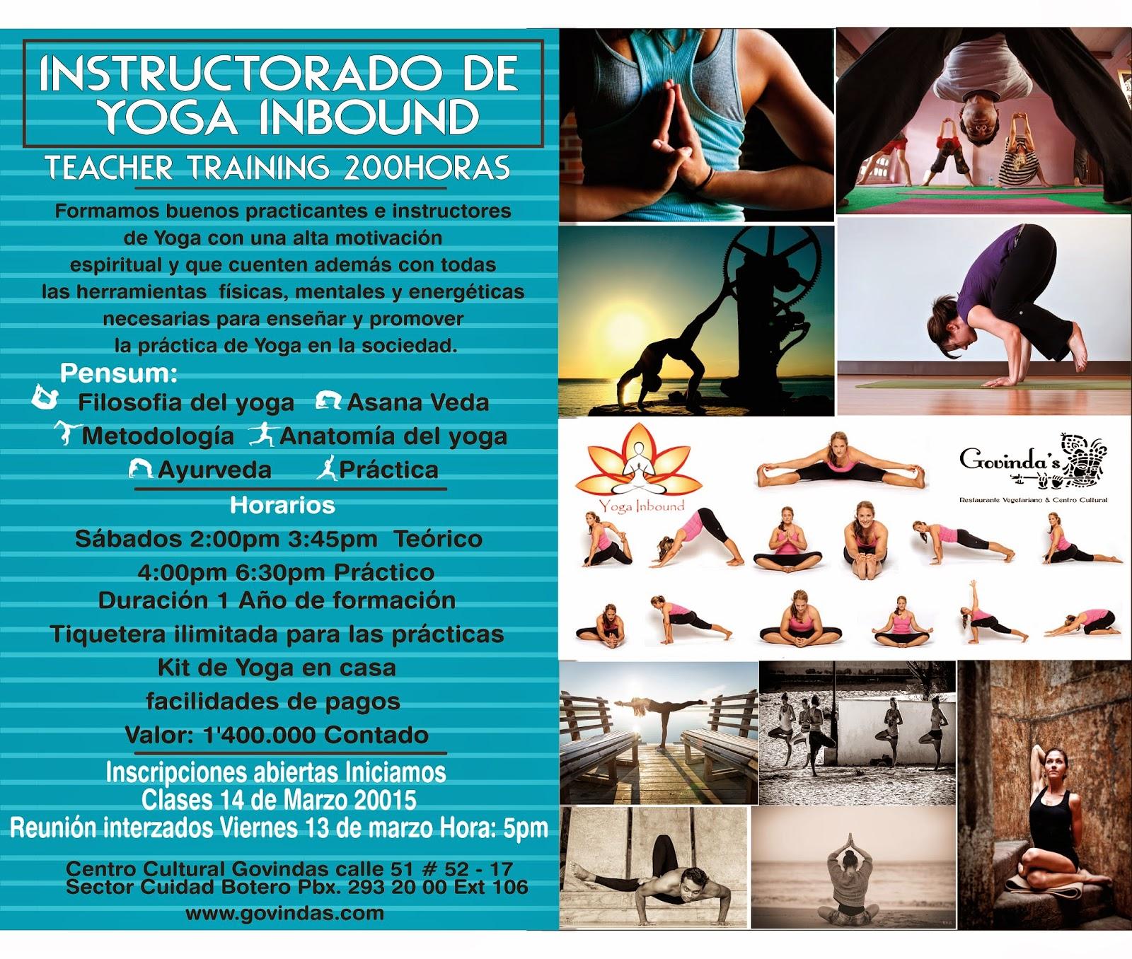 Instructorado de Yoga Inbound - Govindas Restaurante Vegetariano y ... aadfcd48dfd0