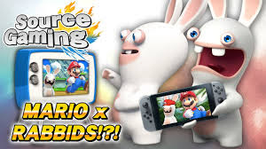 mario vs rabbids