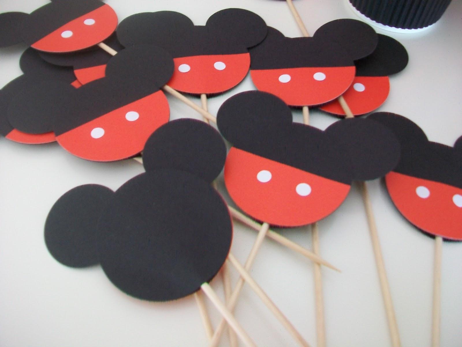 Mickey Mouse Para Imprimir De Manos Manos De Mickey Para: Manualidades, Tarjetas, Recuerdos