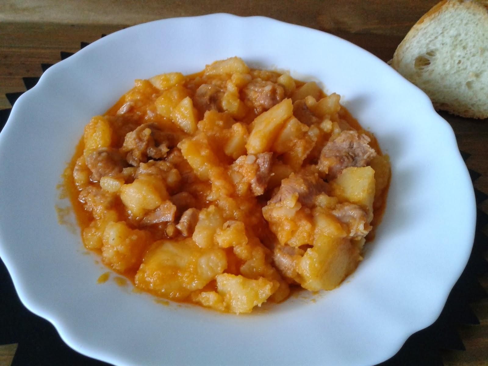 Recetas con encanto estofado de pavo con patatas olla r pida - Patatas en olla rapida ...