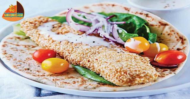 Taco de Pescado empanado con Ajojoli