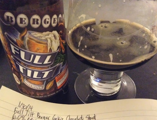 Review: Full Tilt Berger Cookie Chocolate Stout