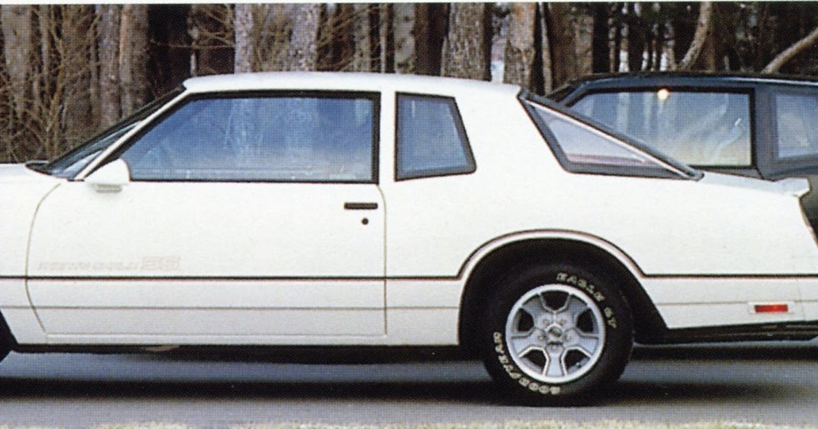 1985 Chevrolet Monte Carlo SS Sales Brochure Book RARE NEW OLD DEALER STOCK !!