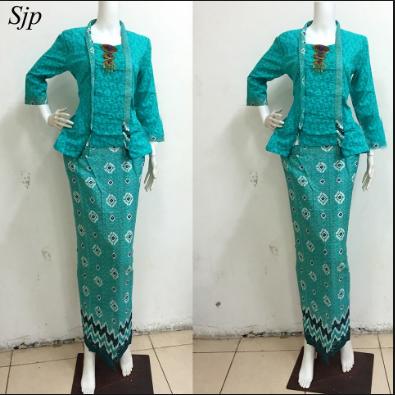 45+ Model Baju Kebaya Batik Modern Terbaru 2021, Update ...