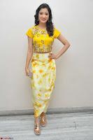Richa Panai in Yellow Slim Fit Crop top ~ CelebxNext 028.JPG