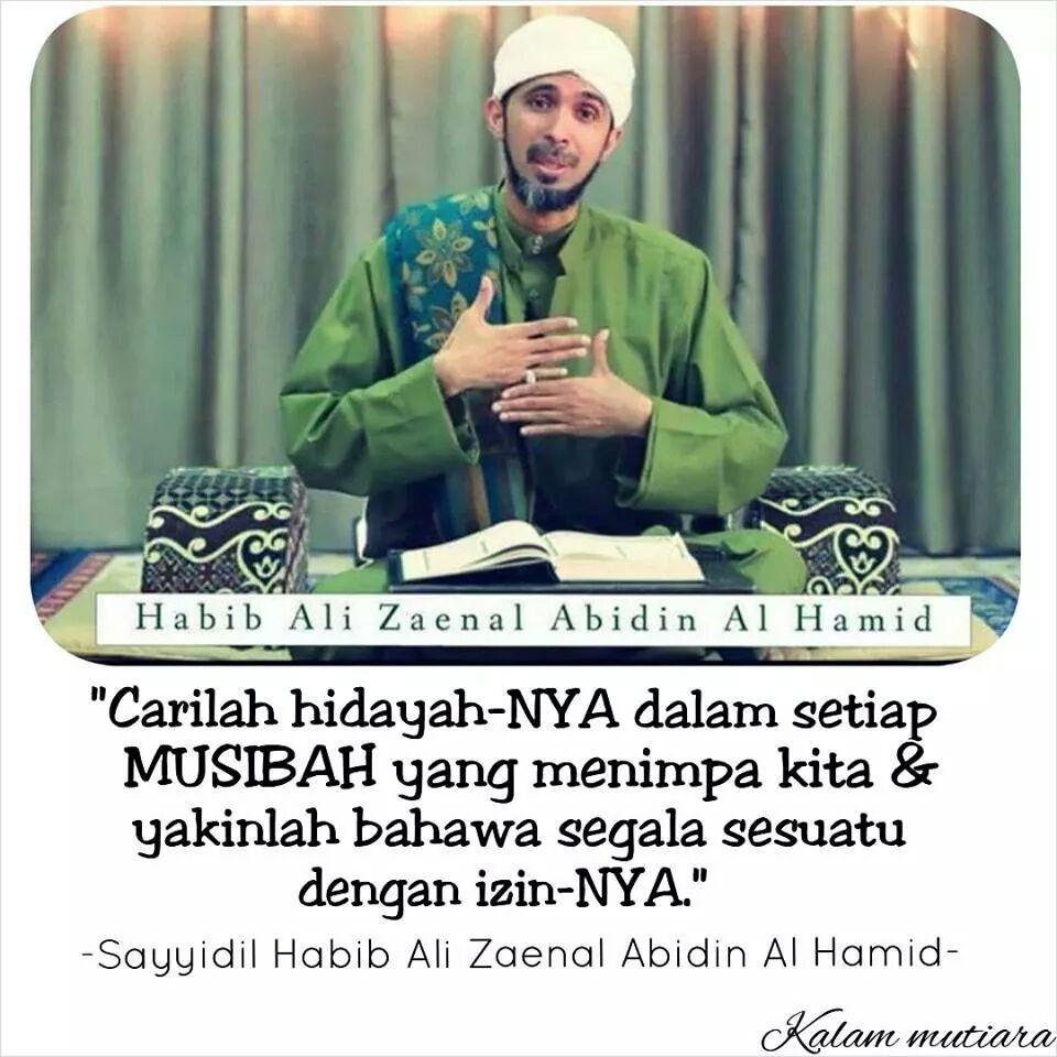 Kata Mutiara Indah Habib Ali Zaenal Abidin Hamid Meme Comic Santri