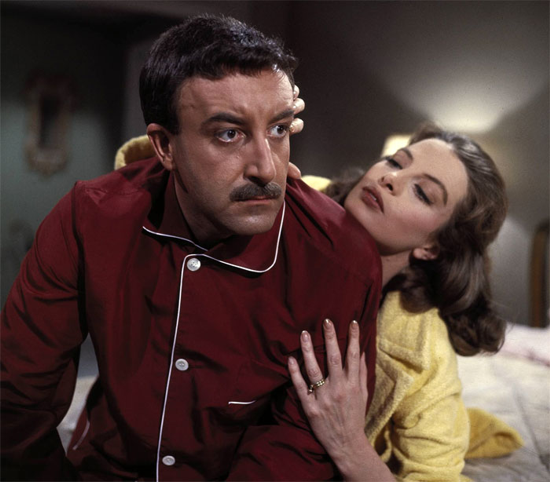 Peter Sellers and Capucine