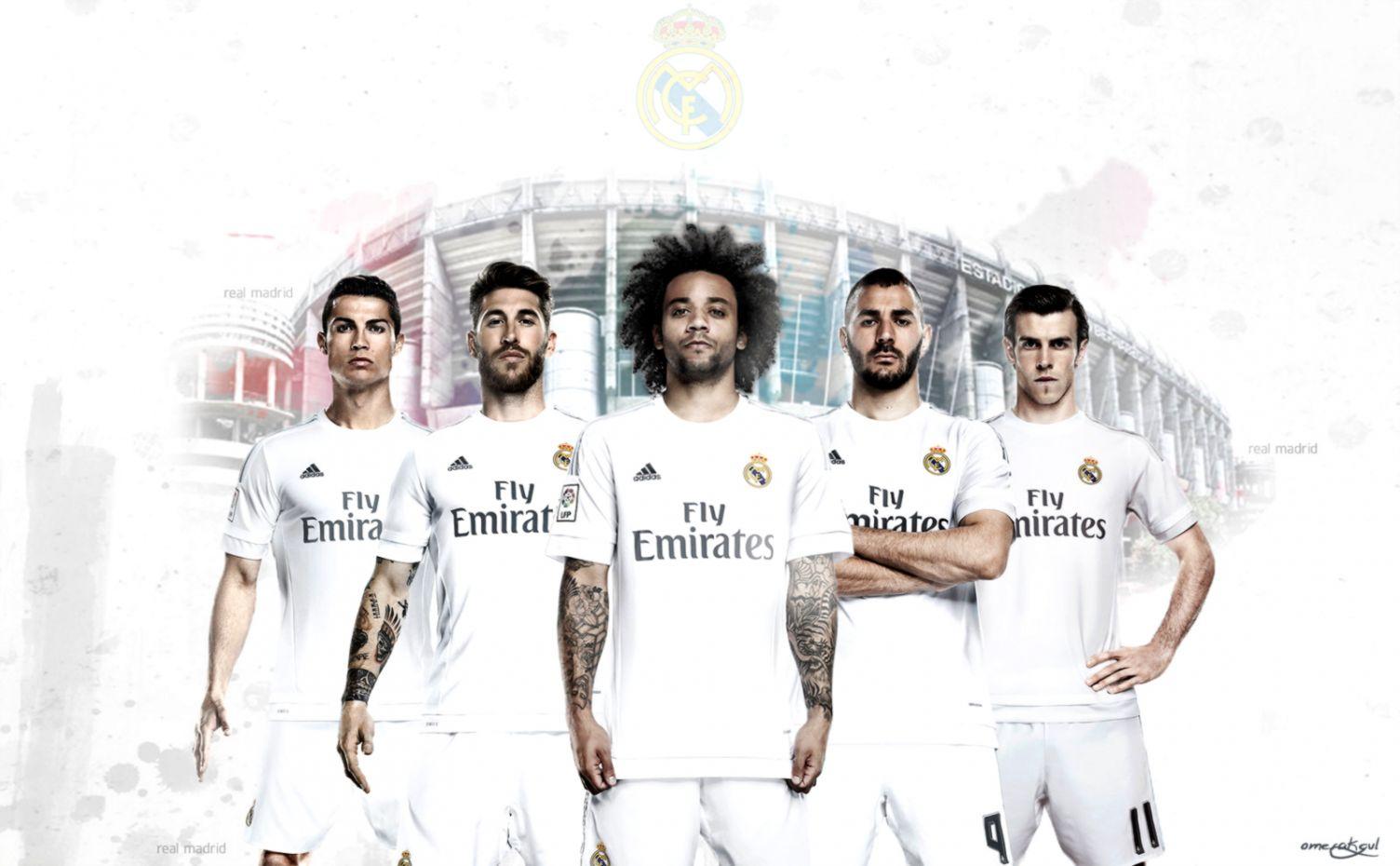Real Madrid Team Squad 2015 Wallpaper Hd Wallpapers Sinaga