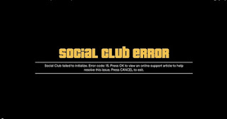 "Cara mengatasi ""Social Club Error Failed to Initialize"" for Game PC GTA V"