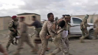 A Houthi drone attack has killed at least five Yemeni soldiers and wounded several senior officers from the Yemeni army in an attacked aimed at senior officers.