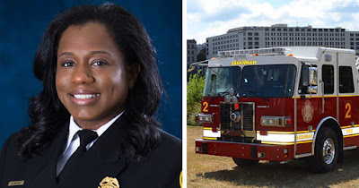 Whitney Williams-Smith, Savannah's first Black woman Chief Fire Marshall