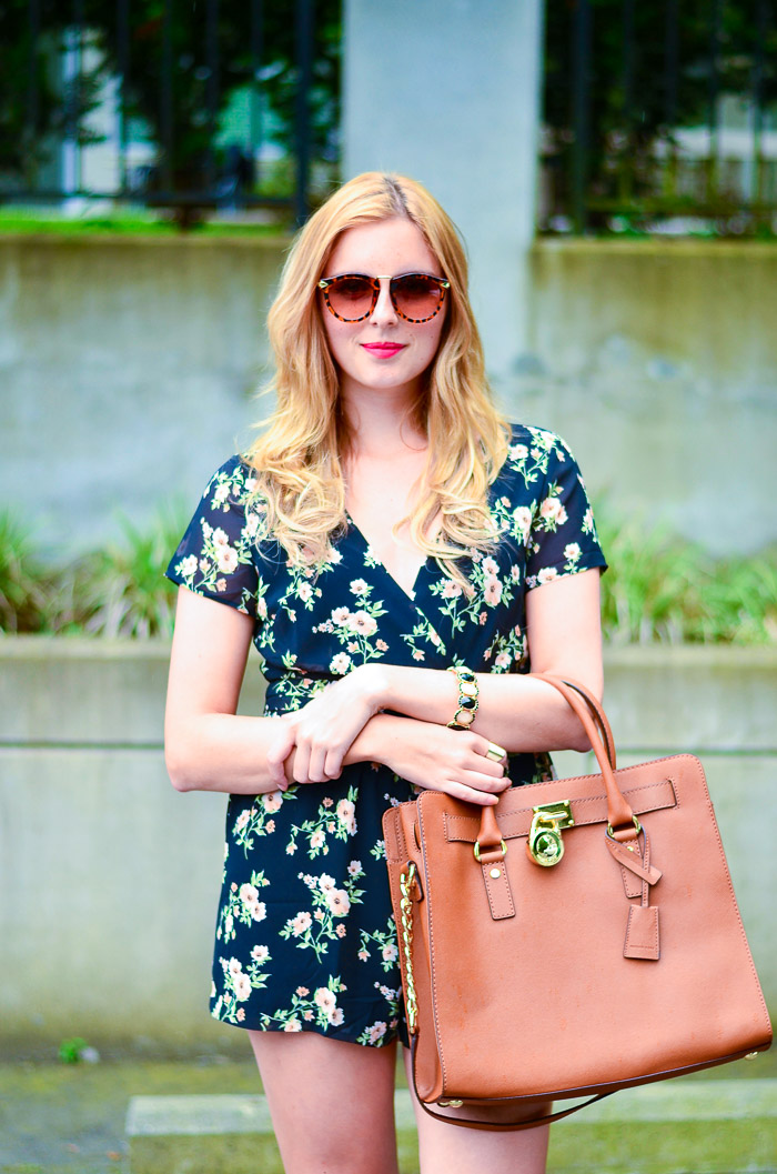 How to Style a Floral Forever 21 Romper, Vancouver Style Blog, Vancouver Beauty Blog, Vancouver Fashion Blog, Vancouver Outfit Blog, Health Blog, Fitness Blog