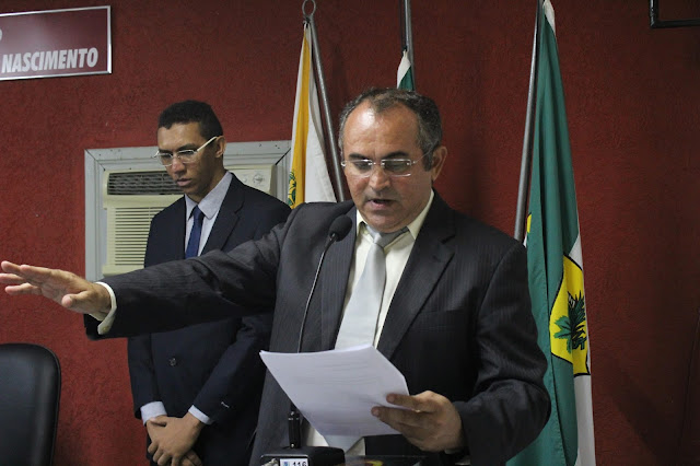 Resultado de imagem para camara de vereadores de marcelino vieira, presidente cesar paiva