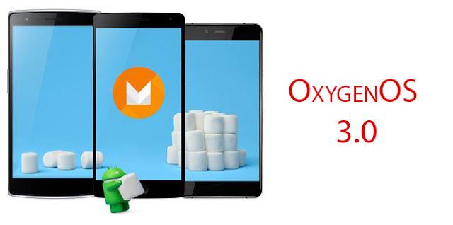 OxygenOS 3.0 Marshmallow