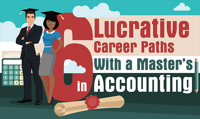 6 Lucrative Career Paths with a Master's in Accounting