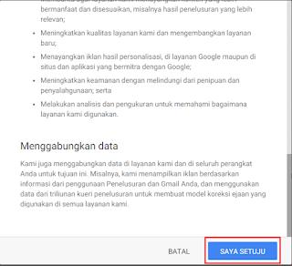 Ketentuan Layanan Gmail